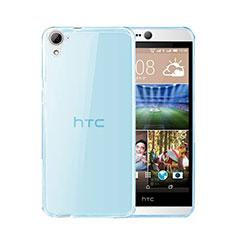 Etui Ultra Fine Silicone Souple Transparente pour HTC Desire 826 826T 826W Bleu