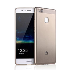 Etui Ultra Fine Silicone Souple Transparente pour Huawei P9 Lite Marron