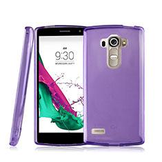 Etui Ultra Fine Silicone Souple Transparente pour LG G4 Beat Violet