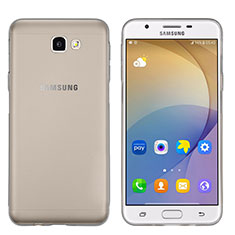 Etui Ultra Fine Silicone Souple Transparente pour Samsung Galaxy J5 Prime G570F Gris