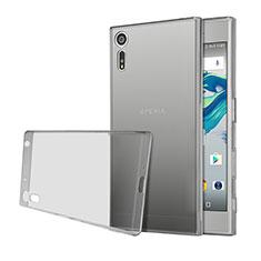 Etui Ultra Fine Silicone Souple Transparente pour Sony Xperia XZs Gris