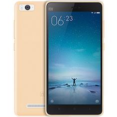 Etui Ultra Fine Silicone Souple Transparente pour Xiaomi Mi 4C Or