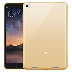 Etui Ultra Fine Silicone Souple Transparente pour Xiaomi Mi Pad 3 Or