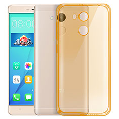 Etui Ultra Fine Silicone Souple Transparente pour Xiaomi Redmi 4 Prime High Edition Or