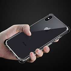 Etui Ultra Fine TPU Souple Transparente C07 pour Apple iPhone X Clair