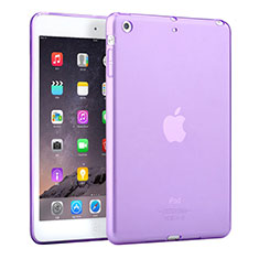 Etui Ultra Fine TPU Souple Transparente pour Apple iPad Mini 3 Violet