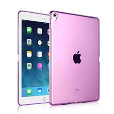 Etui Ultra Fine TPU Souple Transparente pour Apple iPad Pro 9.7 Violet