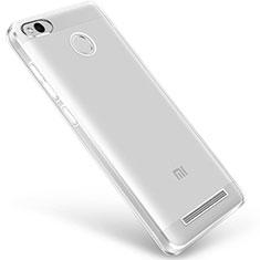Etui Ultra Fine TPU Souple Transparente Q01 pour Xiaomi Redmi 3 Pro Clair