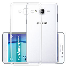 Etui Ultra Fine TPU Souple Transparente R01 pour Samsung Galaxy On5 G550FY Clair