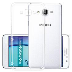 Etui Ultra Fine TPU Souple Transparente R01 pour Samsung Galaxy On5 Pro Clair