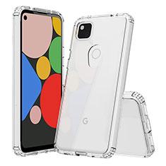 Etui Ultra Fine TPU Souple Transparente T02 pour Google Pixel 4a Clair