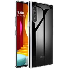 Etui Ultra Fine TPU Souple Transparente T02 pour LG Velvet 4G Clair