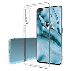 Etui Ultra Fine TPU Souple Transparente T02 pour OnePlus Nord Clair