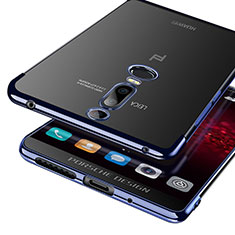 Etui Ultra Fine TPU Souple Transparente T03 pour Huawei Mate RS Bleu