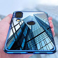Etui Ultra Fine TPU Souple Transparente T03 pour Huawei Nova 3e Bleu
