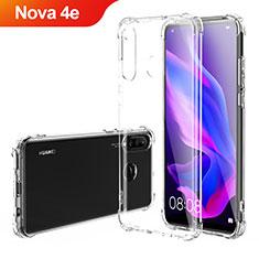 Etui Ultra Fine TPU Souple Transparente T03 pour Huawei Nova 4e Clair