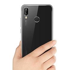 Etui Ultra Fine TPU Souple Transparente T03 pour Huawei P20 Lite Clair