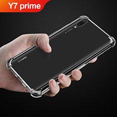 Etui Ultra Fine TPU Souple Transparente T03 pour Huawei Y7 Prime (2019) Clair