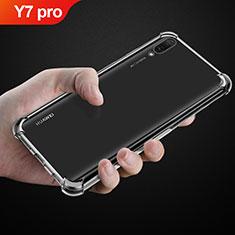 Etui Ultra Fine TPU Souple Transparente T03 pour Huawei Y7 Pro (2019) Clair