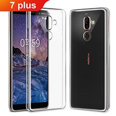 Etui Ultra Fine TPU Souple Transparente T03 pour Nokia 7 Plus Clair