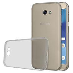 Etui Ultra Fine TPU Souple Transparente T03 pour Samsung Galaxy A5 (2017) Duos Gris