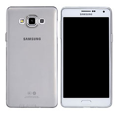 Etui Ultra Fine TPU Souple Transparente T03 pour Samsung Galaxy A7 Duos SM-A700F A700FD Clair