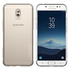 Etui Ultra Fine TPU Souple Transparente T03 pour Samsung Galaxy C7 (2017) Clair
