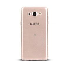 Etui Ultra Fine TPU Souple Transparente T03 pour Samsung Galaxy J5 Duos (2016) Clair