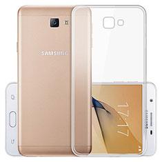 Etui Ultra Fine TPU Souple Transparente T03 pour Samsung Galaxy J5 Prime G570F Clair