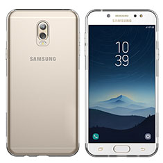 Etui Ultra Fine TPU Souple Transparente T03 pour Samsung Galaxy J7 Plus Clair