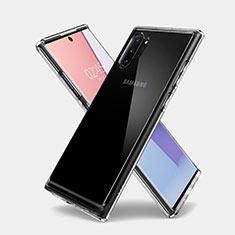 Etui Ultra Fine TPU Souple Transparente T03 pour Samsung Galaxy Note 10 Plus 5G Clair