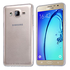 Etui Ultra Fine TPU Souple Transparente T03 pour Samsung Galaxy On5 G550FY Clair