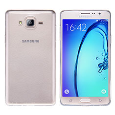 Etui Ultra Fine TPU Souple Transparente T03 pour Samsung Galaxy On7 G600FY Clair