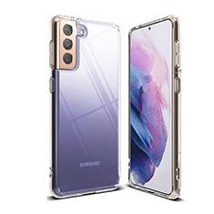 Etui Ultra Fine TPU Souple Transparente T03 pour Samsung Galaxy S21 Plus 5G Clair