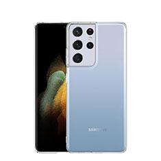 Etui Ultra Fine TPU Souple Transparente T03 pour Samsung Galaxy S21 Ultra 5G Clair