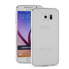 Etui Ultra Fine TPU Souple Transparente T03 pour Samsung Galaxy S6 Duos SM-G920F G9200 Clair