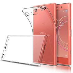 Etui Ultra Fine TPU Souple Transparente T03 pour Sony Xperia XZ1 Compact Clair