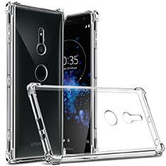 Etui Ultra Fine TPU Souple Transparente T03 pour Sony Xperia XZ2 Clair