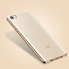 Etui Ultra Fine TPU Souple Transparente T03 pour Xiaomi Mi 5 Or