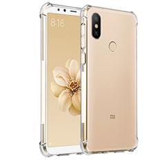 Etui Ultra Fine TPU Souple Transparente T03 pour Xiaomi Mi 6X Clair