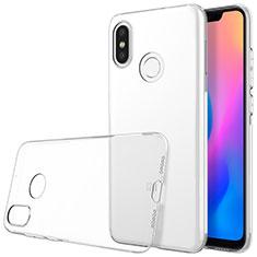 Etui Ultra Fine TPU Souple Transparente T03 pour Xiaomi Mi 8 Clair