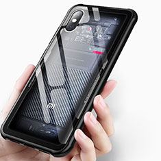 Etui Ultra Fine TPU Souple Transparente T03 pour Xiaomi Mi 8 Pro Global Version Noir