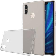 Etui Ultra Fine TPU Souple Transparente T03 pour Xiaomi Mi 8 SE Gris