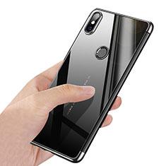 Etui Ultra Fine TPU Souple Transparente T03 pour Xiaomi Mi Mix 2S Argent