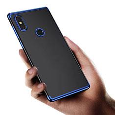 Etui Ultra Fine TPU Souple Transparente T03 pour Xiaomi Mi Mix 2S Bleu