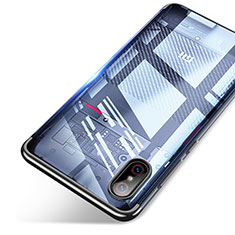 Etui Ultra Fine TPU Souple Transparente T06 pour Xiaomi Mi 8 Screen Fingerprint Edition Noir