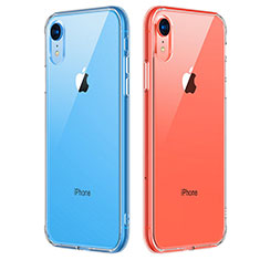 Etui Ultra Fine TPU Souple Transparente T07 pour Apple iPhone XR Clair