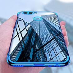 Etui Ultra Fine TPU Souple Transparente T07 pour Huawei Nova 2 Bleu