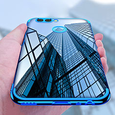 Etui Ultra Fine TPU Souple Transparente T07 pour Huawei Nova 2 Plus Bleu