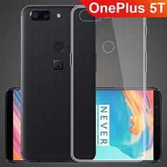 Etui Ultra Fine TPU Souple Transparente T07 pour OnePlus 5T A5010 Clair